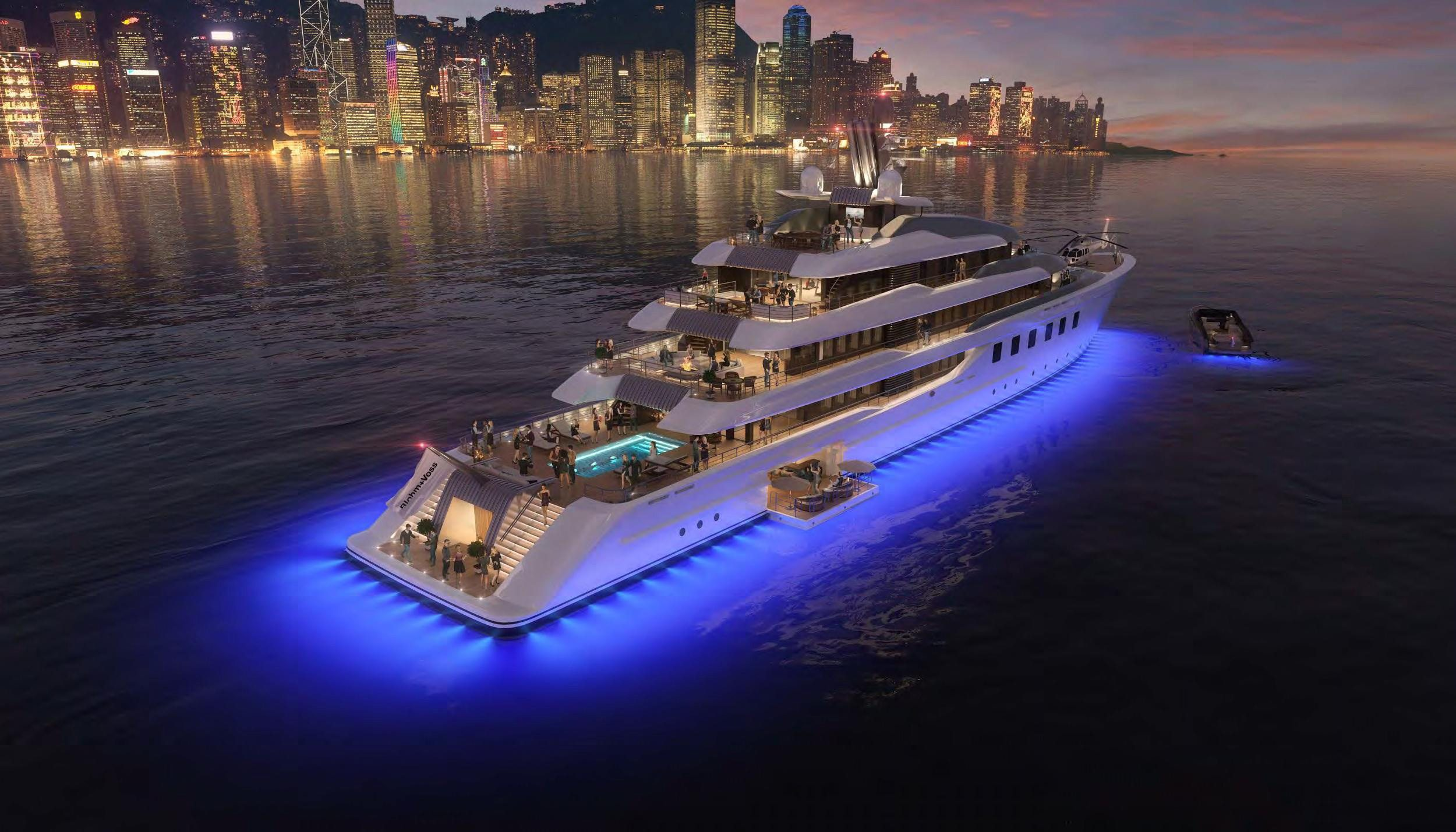 80mBV80_exterior_rendering_night_party